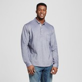 Merona Men's Big & Tall Long Sleeve Polo Shirt