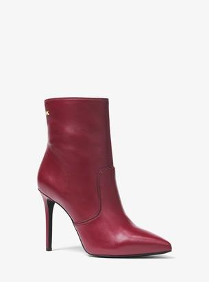 MICHAEL Michael Kors Blaine Leather Ankle Boot