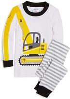 Sara's Prints Boys' Excavator Pajama Set - Little Kid, Big Kid