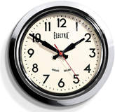 Newgate Small Electric Clock - Chrome
