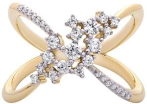 Macy's Diamond Open-Work Ring (1/2 ct. t.w.) in 14k Gold
