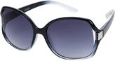 Accessorize Ombre Cut Out Square Sunglasses