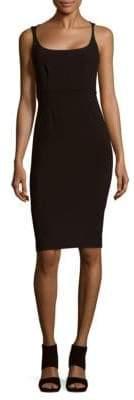 Narciso Rodriguez Scuba Scoopneck Dress