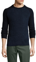 Original Penguin Wool Raglan Crewneck Sweater