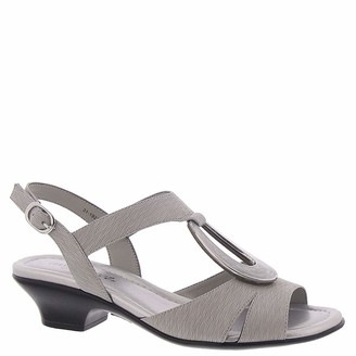 Easy Street Shoes womens Heeled Sandal Beige 10 US