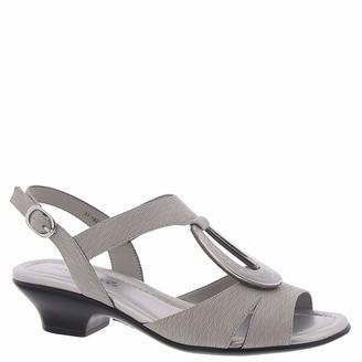 Easy Street Shoes Phoenix Grey Metallic