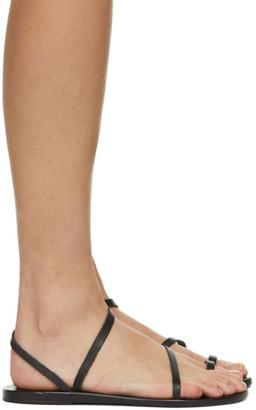 Ancient Greek Sandals SSENSE Exclusive Black Apli Eleftheria Sandals