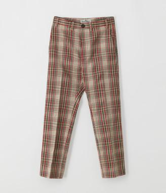 Vivienne Westwood Long George Trousers Beige Tartan