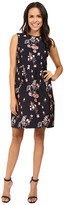 Ivanka Trump Printed Floral Dress
