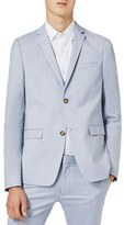 Topman Men's Blue Ultra Skinny Fit Suit Jacket
