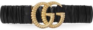 Gucci Double G torchon buckle belt