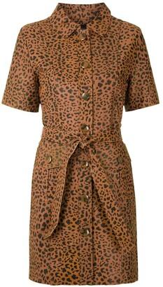 Eva Onca leather dress