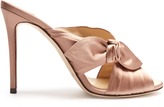 Jimmy Choo Keely 100mm satin mules