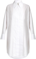 Maison Margiela Tuxedo long sleeved shirtdress