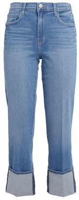 L'Agence Camila High-Rise Cropped Jeans