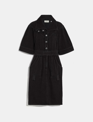 Coach Denim Dress
