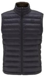 HUGO BOSS Packable down gilet in water-repellent fabric