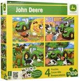 John Deere MasterPiecesM 100pc 4-Pack