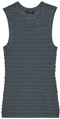 Theory Textured Knit Tank Top