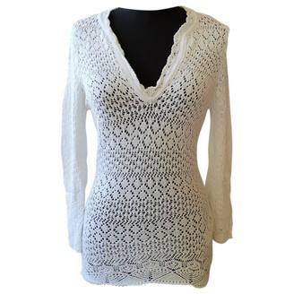 Dolce & Gabbana White Cotton Knitwear for Women