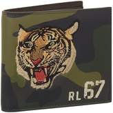 Ralph Lauren Embroidered Tiger Camouflage Wallet