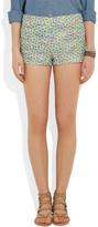 J.Crew Bella metallic bouclé-tweed shorts