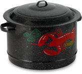 Granite Ware 19-Quart Decorated Seafood Pot