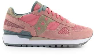 Saucony Shadow Pink Gold Grey Sneaker