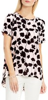 Vince Camuto Women's Elegant Blossom High/low Blouse