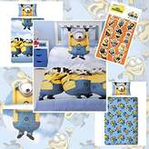 Despicable Me Minions Bello Panel UK Single/US Twin Duvet Cover Set + FREE Small Foil Stickers