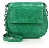 Nancy Gonzalez Round Crocodile Crossbody Bag