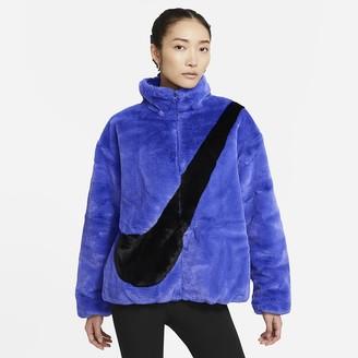 Nike Women's Faux Fur Jacket Sportswear