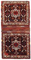 F.J. Kashanian Saddle Bag Hand-Knotted Wool Persian Rug