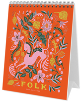 Rifle Paper Co. 2017 Folk Desk Calendar