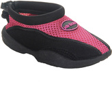 Jelly Beans Fuchsia & Black Mesh Water Shoe