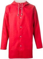Stutterheim 'Stockholm' raincoat - men - Cotton/Polyester/PVC - XS