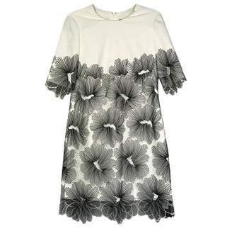 Lela Rose White Cotton Dress for Women