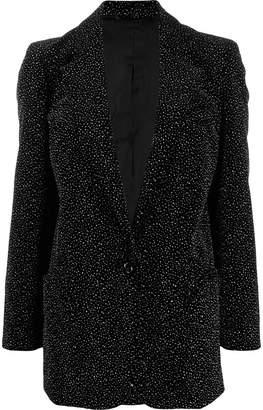 BLAZÉ MILANO crystal-embellished jacket