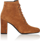 Saint Laurent Women's Babies Suede Ankle Boots