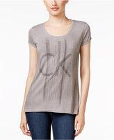 Calvin Klein Jeans Studded Logo Graphic T-Shirt