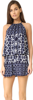BB Dakota Vaughn Casablanca Print Romper