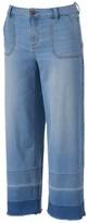 Lauren Conrad Women's Release-Hem Culotte Jeans