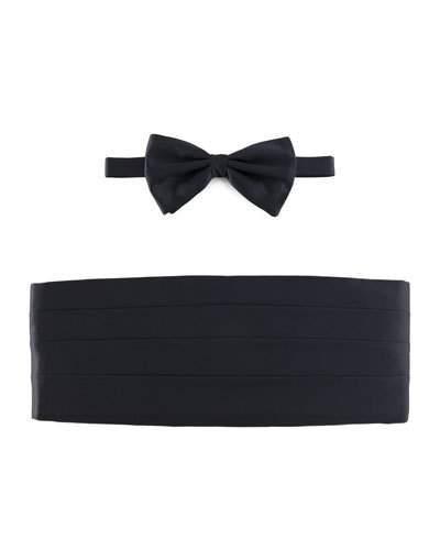 Brioni Cummerbund & Bow Tie Set