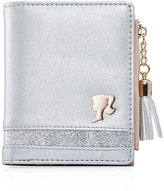 Barbie Fashion Girls Women Cash Change Wallet With Cards Pocket with Zipper Clos in PU#BBPS034