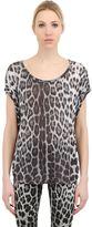 Roberto Cavalli Printed Modal Jersey T-Shirt