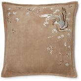 Ralph Lauren Helena Suede Throw Pillow