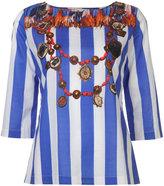 Figue Serafina striped blouse - women - Cotton - S