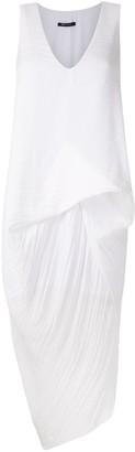 Uma | Raquel Davidowicz Roterdam pleated short dress