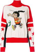 Stella McCartney The Dandy Print turtleneck jumper - women - Virgin Wool - 36