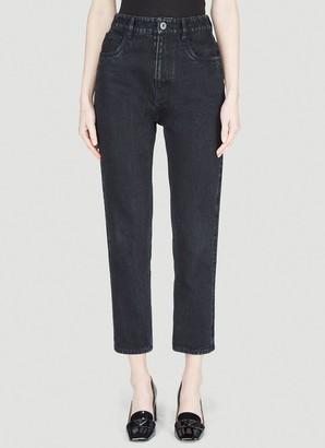 Prada Straight Leg Cropped Jeans